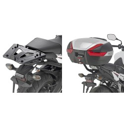 Soporte lateral HONDA CB 650 F / CBR 650 F para Baúl Monokey Side