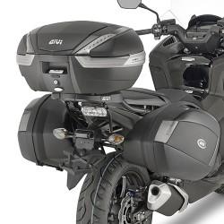 Soporte lateral HONDA INTEGRA 750 para Baúl V35, V37 Monokey® Side