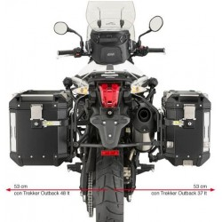 Soporte lateral TRIUMPH TIGER 800 CAM-SIDE