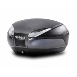 Baúl SHAD SH48 GRIS Oscuro Tapa Carbono