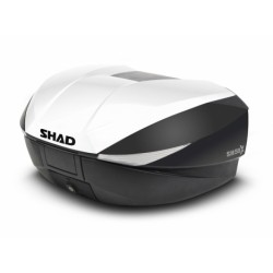 Tapa Baúl SHAD SH58X NEGRO METAL