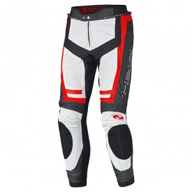 Pantalon mono piel HELD ROCKET 3.0 blanco rojo