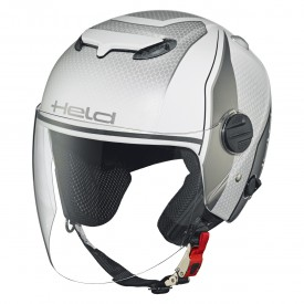 Casco HELD TOP SPOT diseño blanco