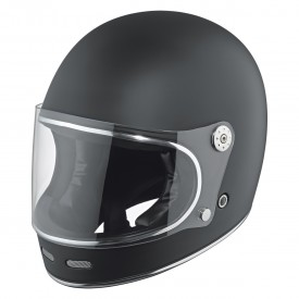Casco integral clasico HELD ROOT negro mate