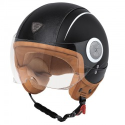 Casco HELD MC CORRY Negro piel