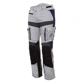 Pantalon RUKKA OFFLANE gris azul blanco