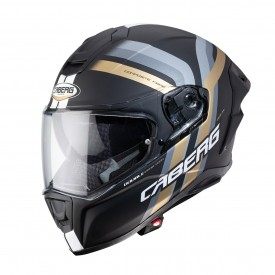 Casco CABERG DRIFT EVO VERTICAL Negro mate Dorado Antracita
