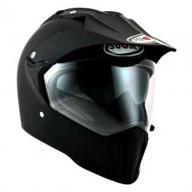 Casco enduro SUOMY MX TOURER negro mate
