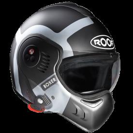 Casco ROOF R05 BOXER V8 BOND Titanio plata mate