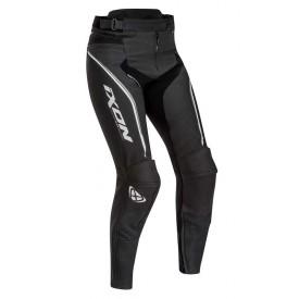 Pantalon piel mujer IXON TRINITY Negro blanco gris