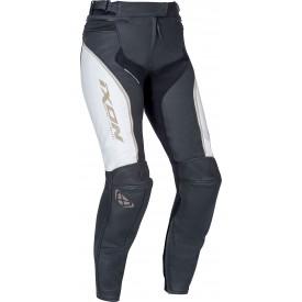Pantalon mono lady IXON TRINITY Blanco Negro Dorado