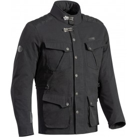 Chaqueta textil IXON EXHAUST negro