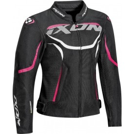 Chaqueta IXON SPRINTER AIR LADY negro rosa