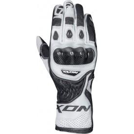 Guantes deportivos IXON RS CIRCUIT R Blanco Negro