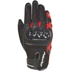 Guantes cortos IXON RS RISE AIR negro rojo