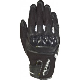 Guantes IXON RS RISE AIR negro blanco