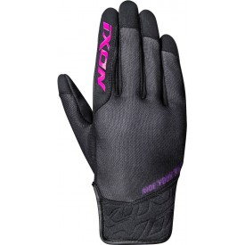 Guantes IXON RS SLICKER LADY Negro rosa