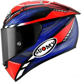 Casco SUOMY SR-GP ON BOARD Azul Rojo Fluo