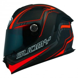 Casco SUOMY SR-SPORT CARBON rojo