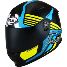 Casco SUOMY SR-SPORT ATTRACTION Azul Amarillo