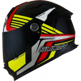 Casco SUOMY SR SPORT ATTRACTION Rojo Amarillo