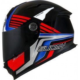 Casco SUOMY SR SPORT ATTRACTION Azul Rojo