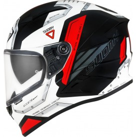 Casco SUOMY SPEEDSTAR AIRPLANE Blanco Rojo