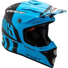 Casco motocross SUOMY MX SPEED FULL GAS Cyan azul