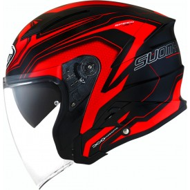 Casco SUOMY SPEEDJET READY Rojo