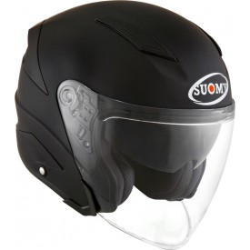 Casco SUOMY SPEEDJET PLAIN negro mate