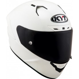 Casco KYT NX RACE PLAIN blanco