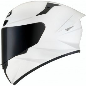 Casco KYT TT COURSE PLAIN Blanco