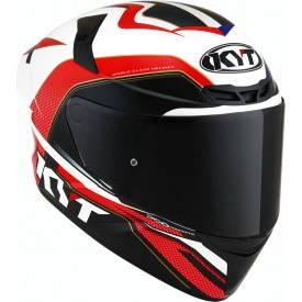Casco KYT TT COURSE GRAND PRIX Azul Rojo