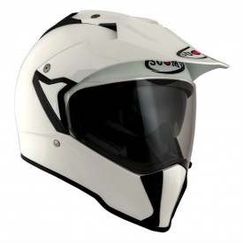 Casco SUOMY MX TOURER PLAIN blanco
