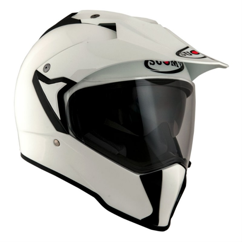 Casco SUOMY MX TOURER PLAIN blanco