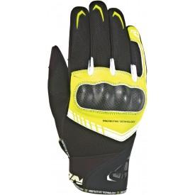 Guantes cortos IXON RS LOOP 2 negro amarillo