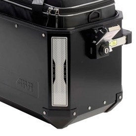 Pegatinas reflectantes GIVI E145 para maletas outback y dolomiti