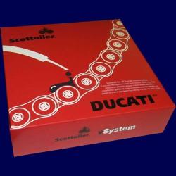 Engrasador de cadena SCOTTOILER vSystem para DUCATI