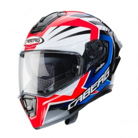 Casco CABERG DRIFT EVO MR55 Blanco rojo azul