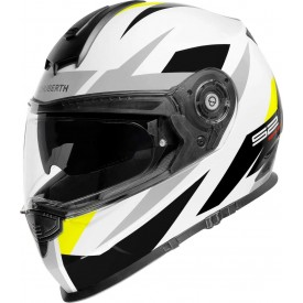 Casco schuberth S2 sport Polar amarillo