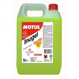 Refrigerante MOTUL INUGEL LONG LIFE 50% Verde 5 Litros