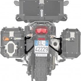 Portamaletas lateral para maletas Trekker Outback MONOKEY® CAM-SIDE diámetro 18 mm