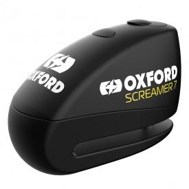 Antirrobo disco con alarma OXFORD SCREAMER negro