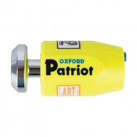 Candado disco OXFORD PATRIOT amarillo