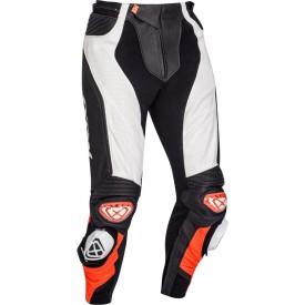 Pantalon piel IXON VENDETTA EVO Negro blanco rojo