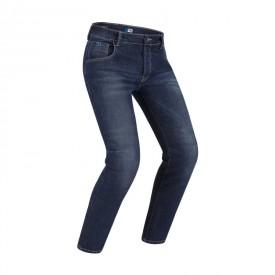 Jeans de moto PMJ NEW RIDER MAN azul