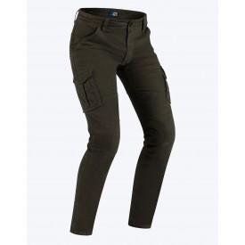 Pantalon tejano moto PMJ SANTIAGO marron