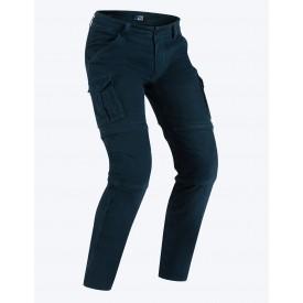 Pantalon desmontable con bolsillos PMJ SANTIAGO ZIP azul