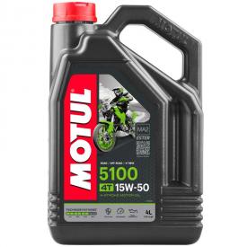Aceite MOTUL 5100 15W50 4 litros
