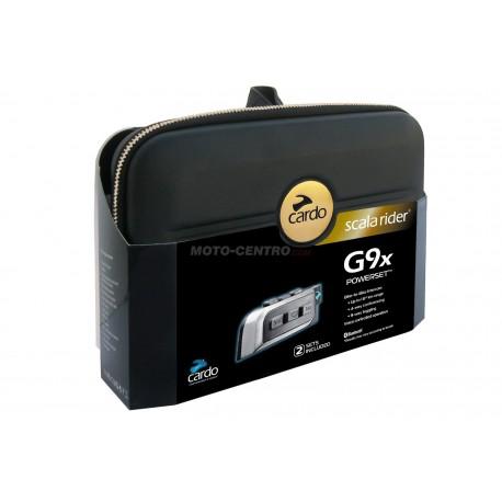 Intercomunicador CARDO G9X Powerset